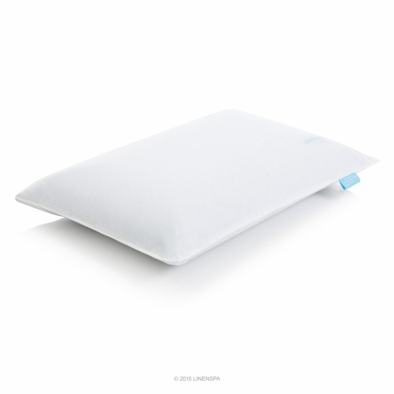 Spa Supreme Traditional Memory Foam Pillow : Linenspa Dual Zone Gel Memory Foam Standard Pillow & Reviews Wayfair.ca