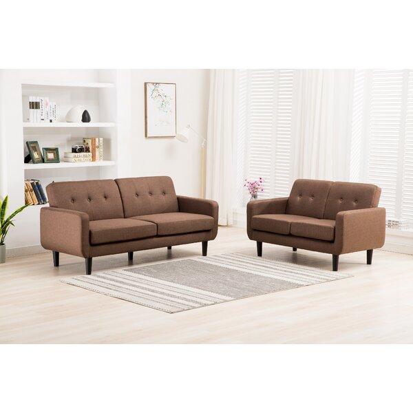 Busch 2 Piece Living Room Set by Ebern Designs