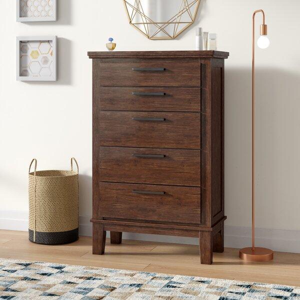 Hylan 5 Drawer Standard Dresser/Chest by Brayden Studio