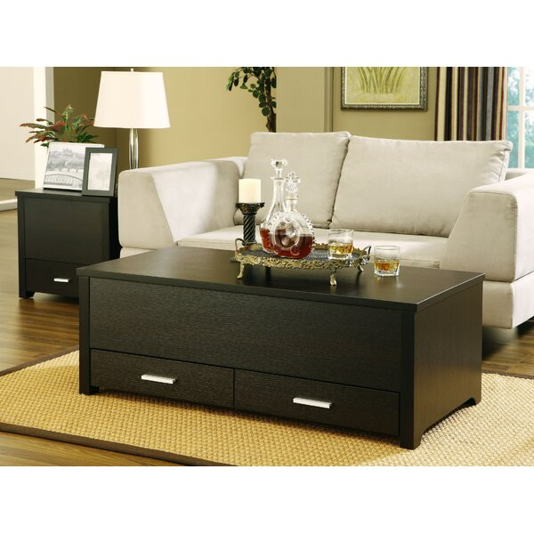 Kalani 2 Piece Coffee Table Set by Mercury Row