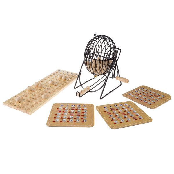 Deluxe Wood Bingo Game Set by Hey! Play!