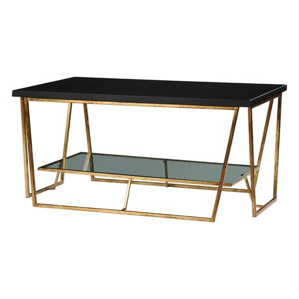 Bridges Granite Coffee Table by Brayden Studio