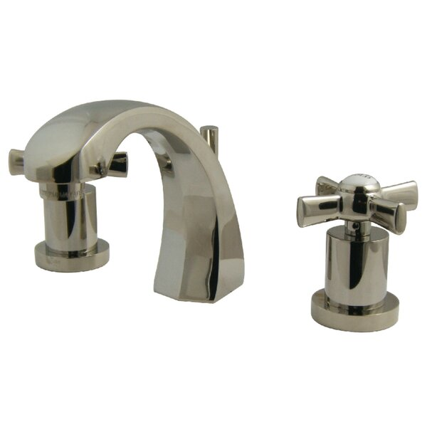 Millennium Widespread Bathroom Faucet With Drain Assembly By Kingston Brass