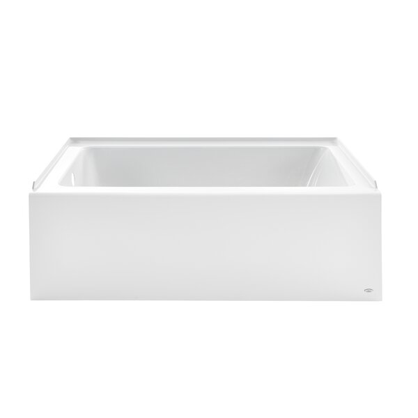 Studio Acrylic Tub 60 x 30 Alcove Soaking Bathtub by American Standard