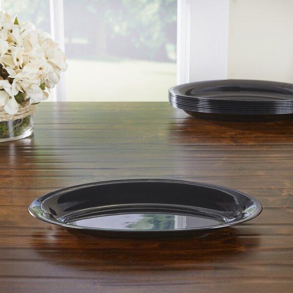 Wayfair Basics Plastic Oval Serving Trays (Set of 48) by Wayfair Basics™