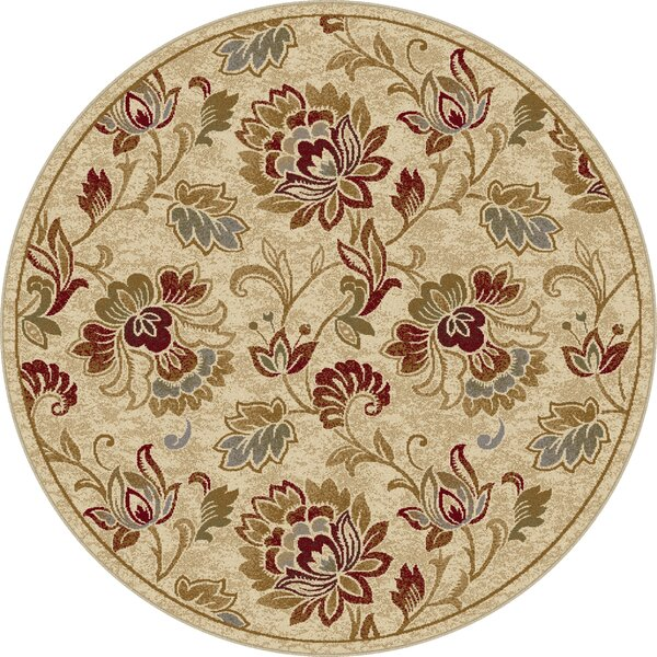 Gunnora Ivory Area Rug by Charlton Home