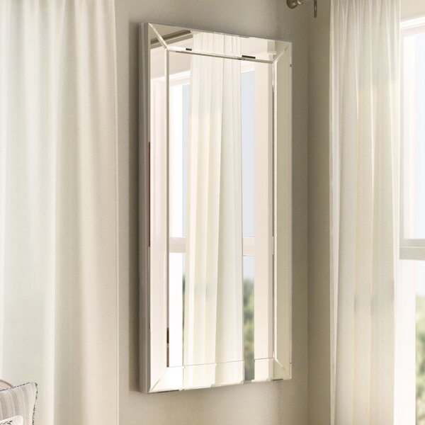 Lavelle Wall Mirror by Three Posts