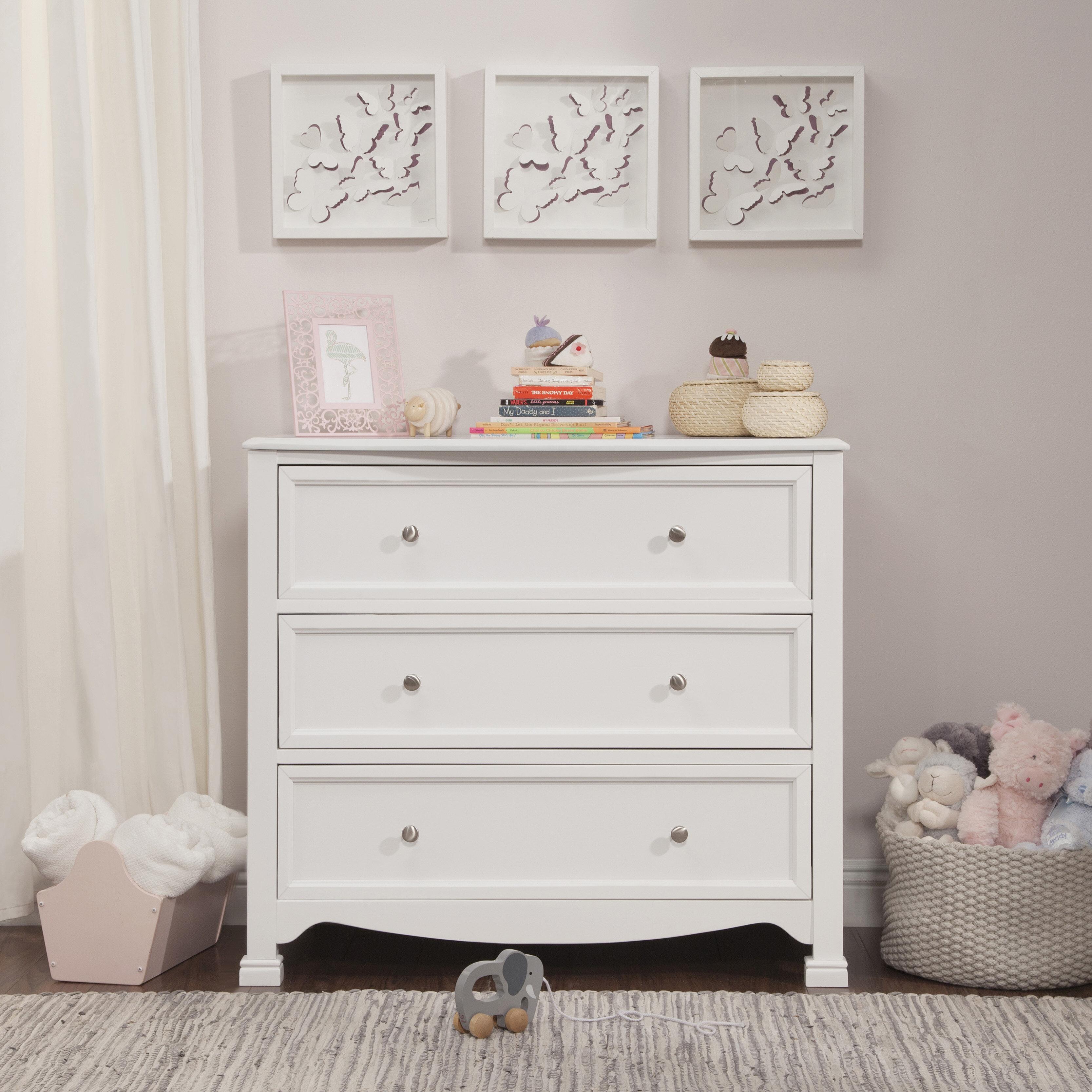 Davinci Kalani 3 Drawer Dresser Reviews Wayfair
