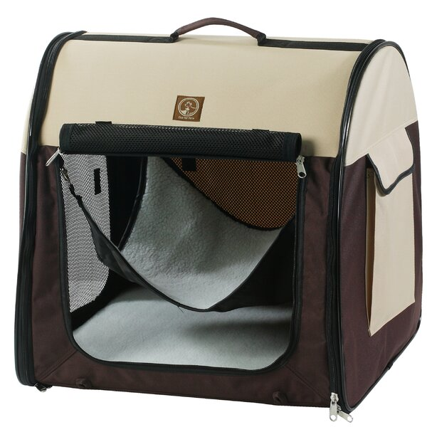 Single Fabric Portable Pet Crate/Carrier by Unison