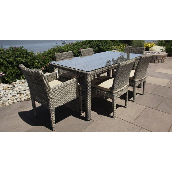 Corsica 7 Piece Dining Set by Madbury Road