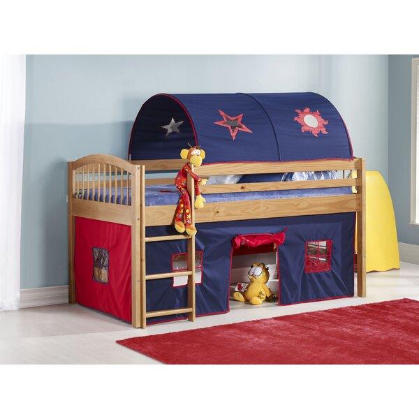 Abigail Twin Low Loft Bed by Zoomie Kids Zoomie Kids