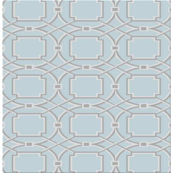 Figgs Duck Egg Blue Area Rug by Ivy Bronx