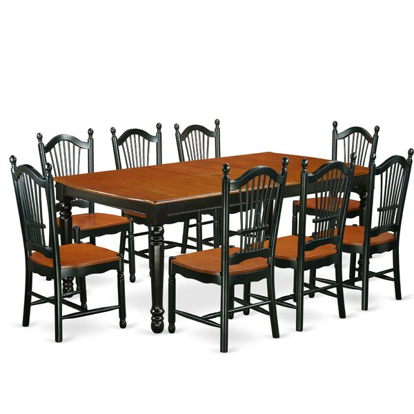 Pimentel 9 Piece Dining Set by August Grove