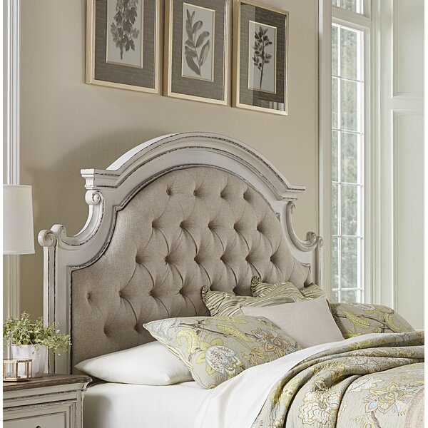 Castleford Upholstered Panel Headboard by Lark Manor