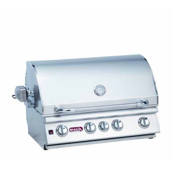 Angus 4-Burner Built-In Gas Grill by Bull Outdoor Products