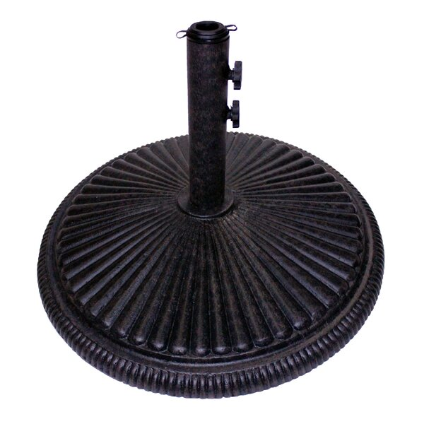Heavy Cast Iron Free Standing Umbrella Base by California Outdoor Designs