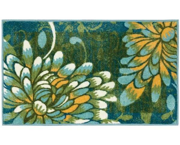 Sheryll Blue Novelty Rug by Winston Porter