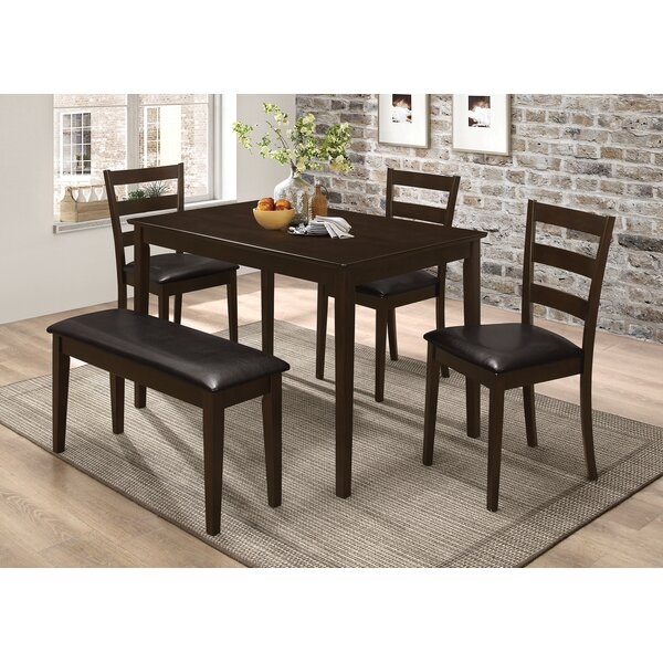 Candido 5 Piece Dining Set By Red Barrel Studio