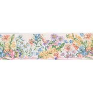 Flowers Floral 15u0027 X 7u0027u0027 Wallpaper Border