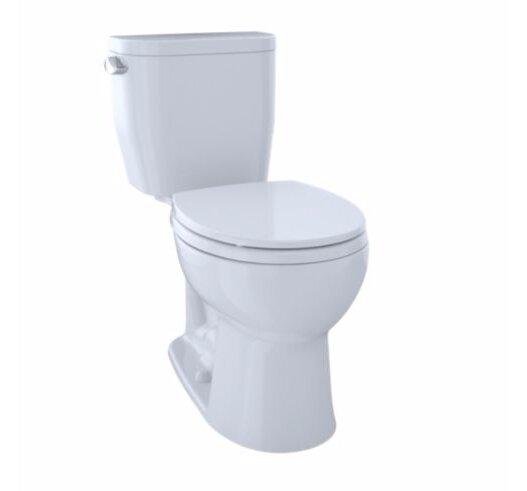 Entrada® Dual Flush Round Two-Piece Toilet by Toto