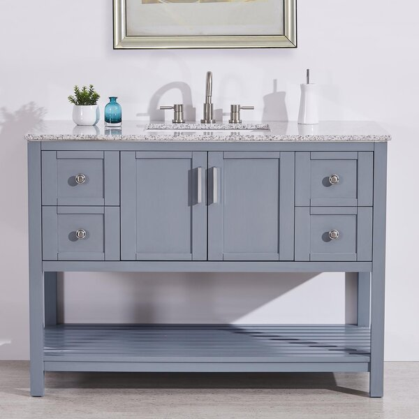 Sheridan 48 Single Bathroom Vanity Set by Highland Dunes