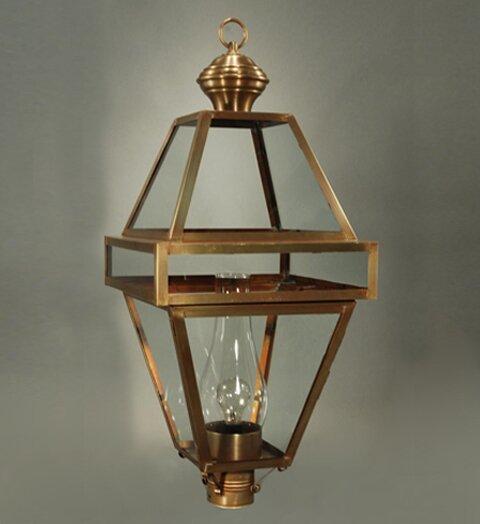 Boston Socket with Chimney 1-Light Lantern Head by Northeast Lantern