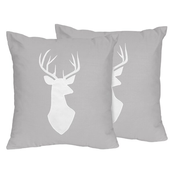 Woodsy Throw Pillow (Set of 2) by Sweet Jojo Designs