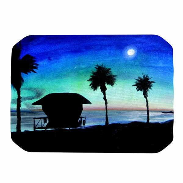 Carlsbad State Beach Placemat by KESS InHouse