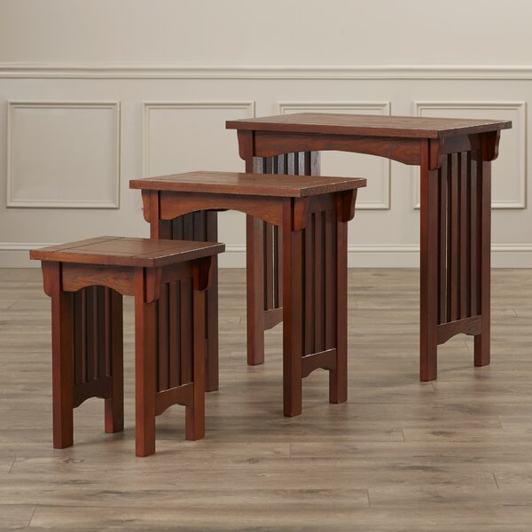 Donoho 3 Piece Nesting Tables by Charlton Home
