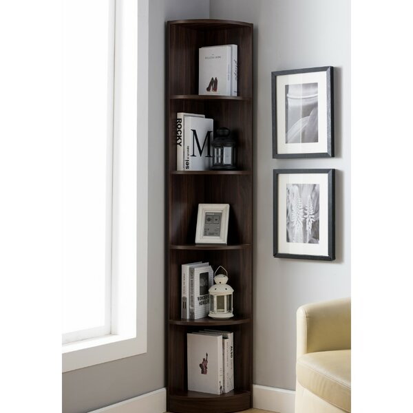 Hodge Display Corner Unit Bookcase by Wrought Studio