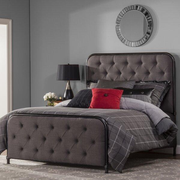 Minco Upholstered Panel Bed by Trent Austin Design