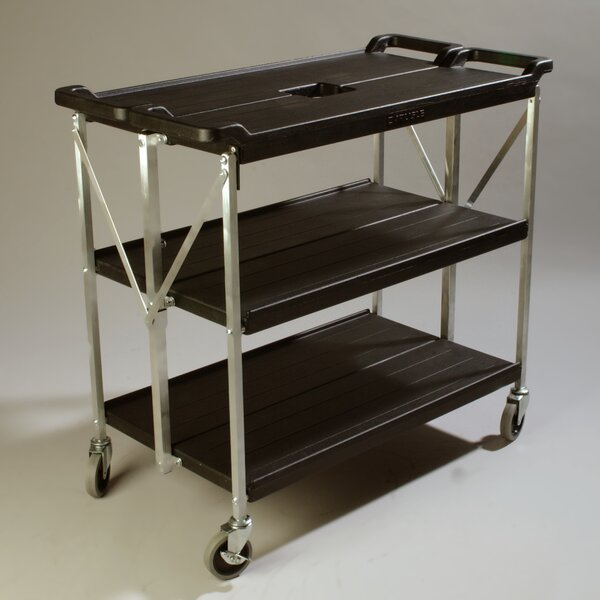 Fold 'N Go® Bar Cart by Carlisle Food Service Products