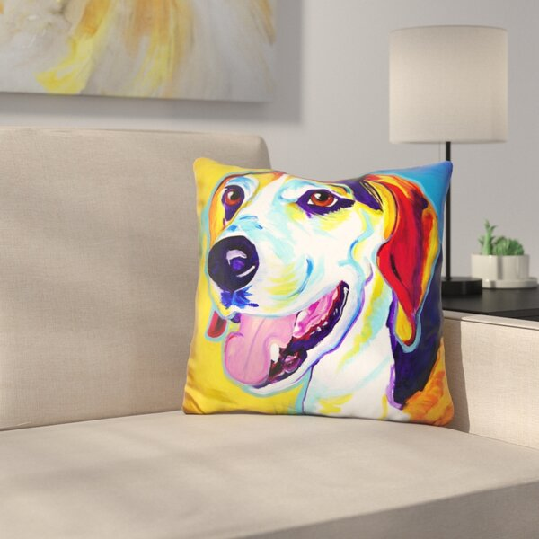 Lou Throw Pillow by East Urban Home