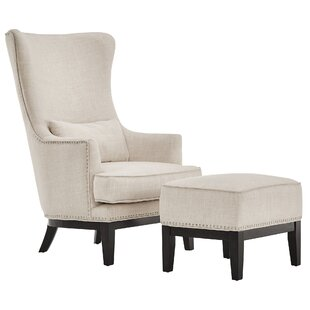Matteo Wingback Chair And Ottoman