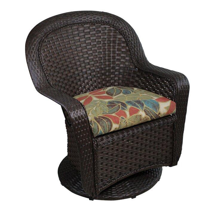 35 Brown Steel 3pc Resin Wicker Outdoor Patio Furniture Set