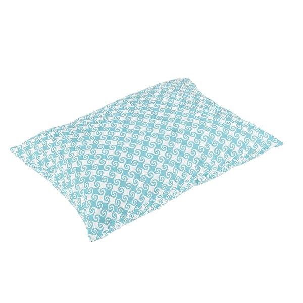 Estelle Knife Edge Indoor/Outdoor Floor Pillow by Bayou Breeze