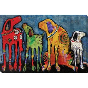 Best Friends by Jenny Foster Painting Print on Wrapped Canvas by Artistic Home Gallery