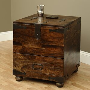 thakat end table with storage