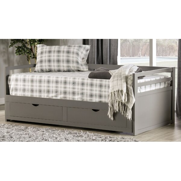 Pazug Twin Daybed with Trundle by Gracie Oaks Gracie Oaks