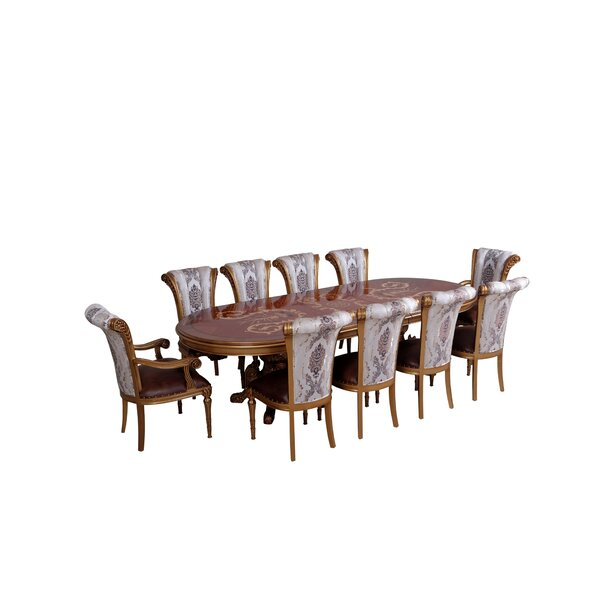 Phaidra 9 Piece Dining Set by Astoria Grand
