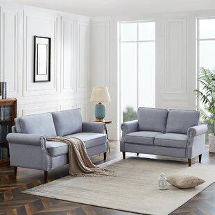 Fradin 2 Piece Living Room Set by Red Barrel Studio®