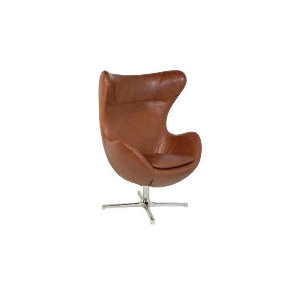 Waycross Swivel Lounge Chair by Foundry Select