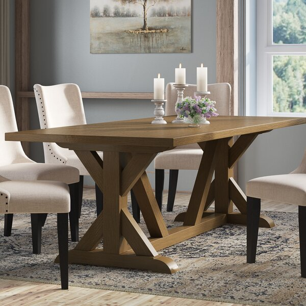 Sydney Solid Wood Dining Table by Laurel Foundry Modern Farmhouse