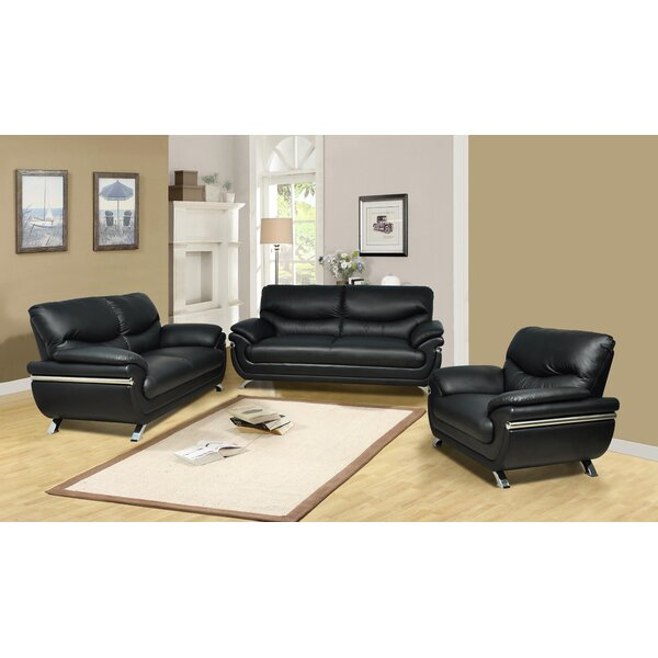 Willingham 3 Piece Living Room Set by Latitude Run