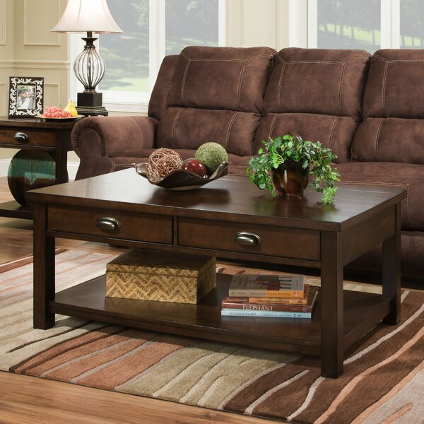 Burley Coffee Table  Simmons Casegoods by Alcott Hill