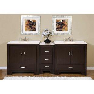 Compare Sweat 89 Double Bathroom Vanity Set ByEbern Designs