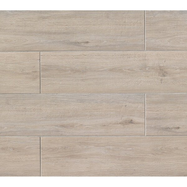 Titus 8 x 36 Porcelain Field Tile in Beige by Bedrosians