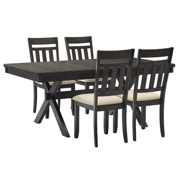 Ishika 5 Piece Dining Set by Gracie Oaks Gracie Oaks