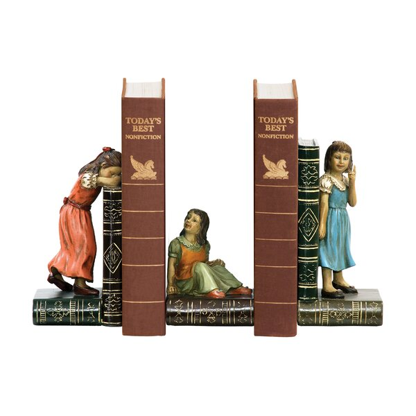 Child Game Bookend (Set of 3) by Alcott Hill