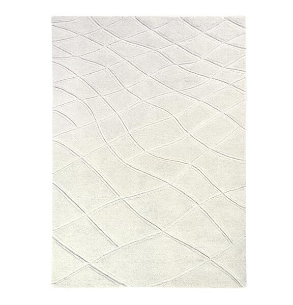 Aria Caryn Hand Tufted Wool Ivory Area Rug by Dynamic Rugs
